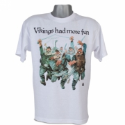 T-shirt Vikings had more fun